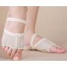 Nus pieds chaussons de danse couleur chair