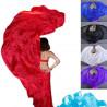 Voile de danse orientale en soie