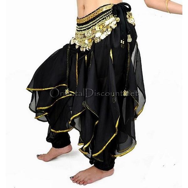 Sarouel de danse orientale noir