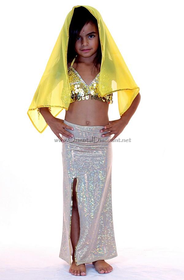 Costume de danse orientale pour fille