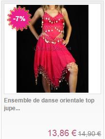 deguisement danseuse orientale femme