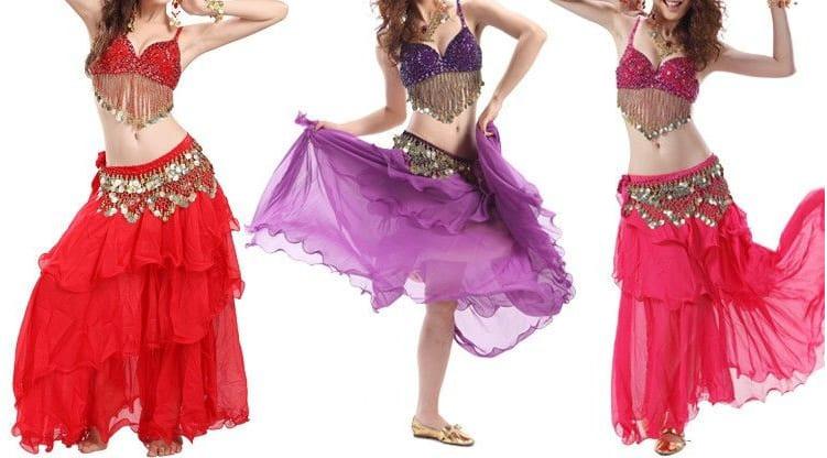exemple de costume de danse orientale