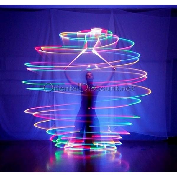 poi lumineux danse