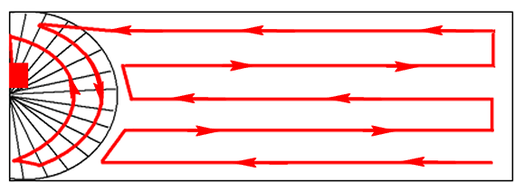 etape montage fan veil lumineux