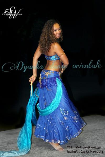 Spectacle de danse orientale Dyanka